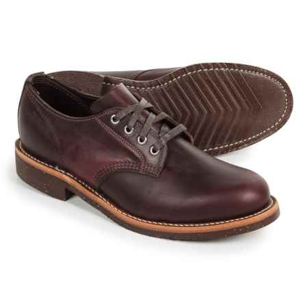 Chippewa General Utility Service Oxford Shoes - Leather (For Men) in Anaflex Cordavan - Closeouts