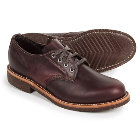 Chippewa General Utility Service Oxford Shoes - Leather (For Men) in Anaflex Cordavan