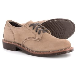 Chippewa General Utility Service Oxford Shoes - Leather (For Men) in Khaki Suede