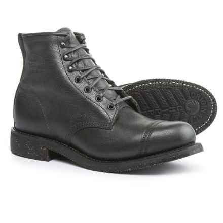"""Chippewa Homestead Boots - Leather, 6"""" (For Men) in Black - Closeouts"""