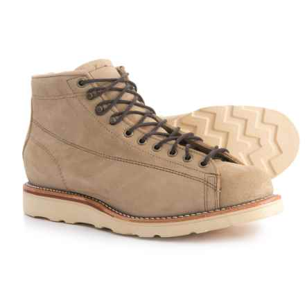 Chippewa Hudson Boots - Suede (For Men) in Sand Suede - Closeouts