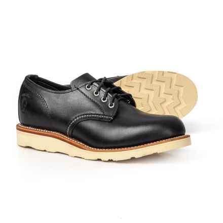 8179218247f3 Chippewa Leather Plain Toe Oxford Shoes - Factory 2nds (For Men) in Black