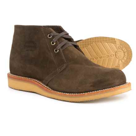 Chippewa Milford Chukka Boots - Suede (For Men) in Chocolate - Closeouts