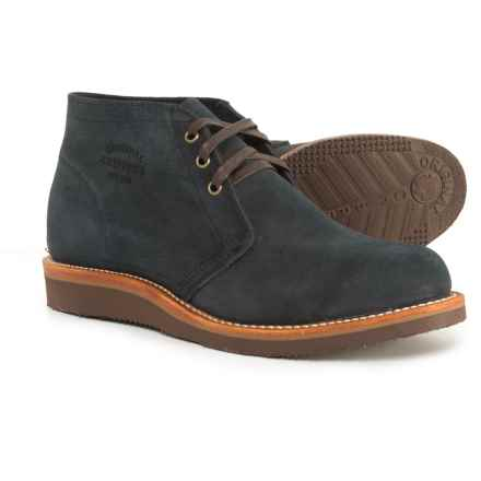 Chippewa Milford Chukka Boots - Suede (For Men) in Navy - Closeouts