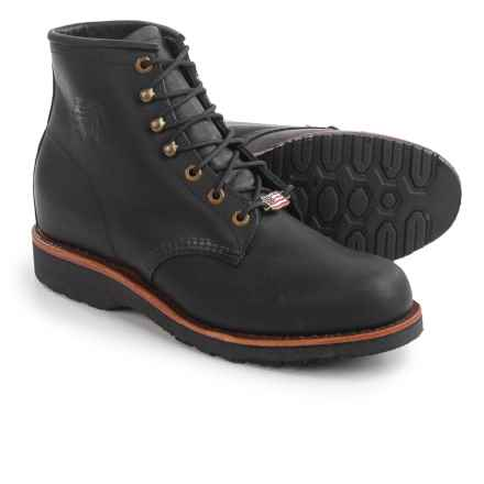 """Chippewa Odessa Boots - Leather, 6"""" (For Men) in Black - 2nds"""