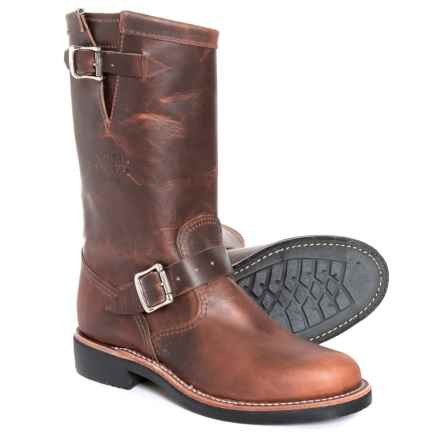 """Chippewa Raynard Boots - 11"""", Leather (For Women) in Tan - Closeouts"""