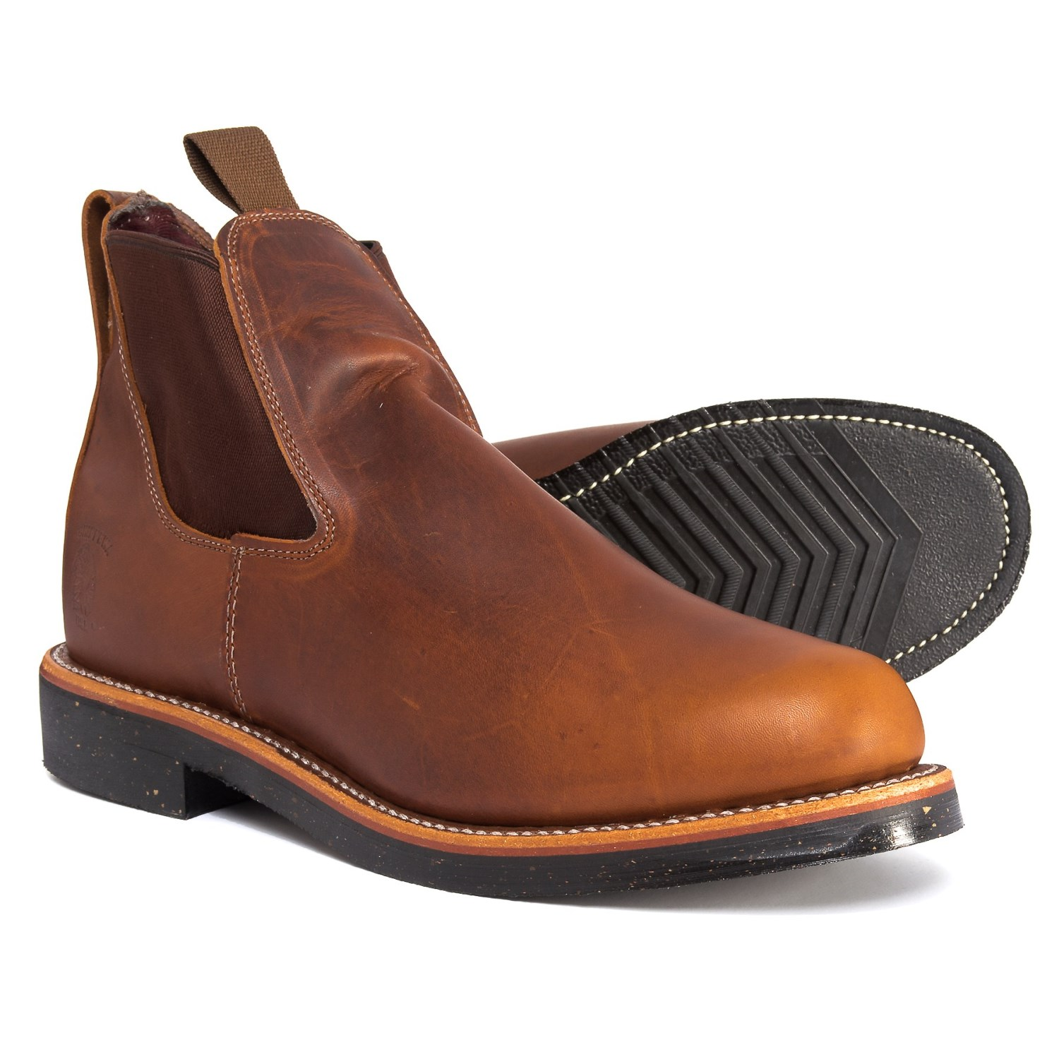 """94c4aaddb28e0 Chippewa Renegade Chelsea Boots - 5"""", Leather (For Men) in Tan Renegade"""
