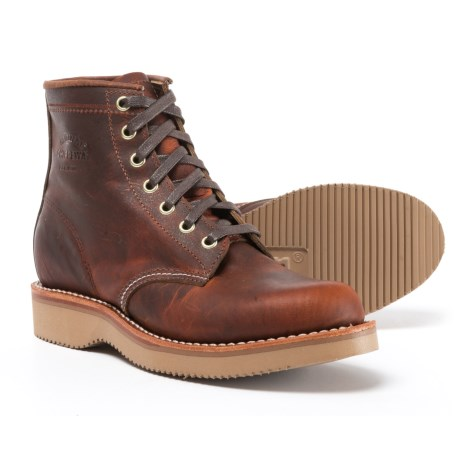 """Chippewa Renegade Leather Boots - 6"""" (For Women) in Keota Tan"""