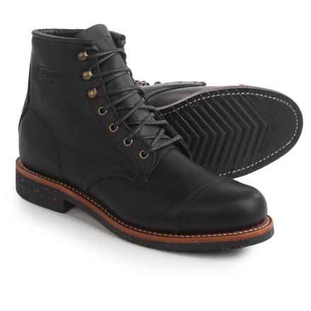 """Chippewa Renegade Utility Homestead Boots - Leather, 6"""" (For Men) in Black - 2nds"""