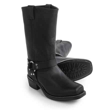 "Chippewa Street Warrior Boots - Square Toe, 12"" (For Men) in Black - 2nds"