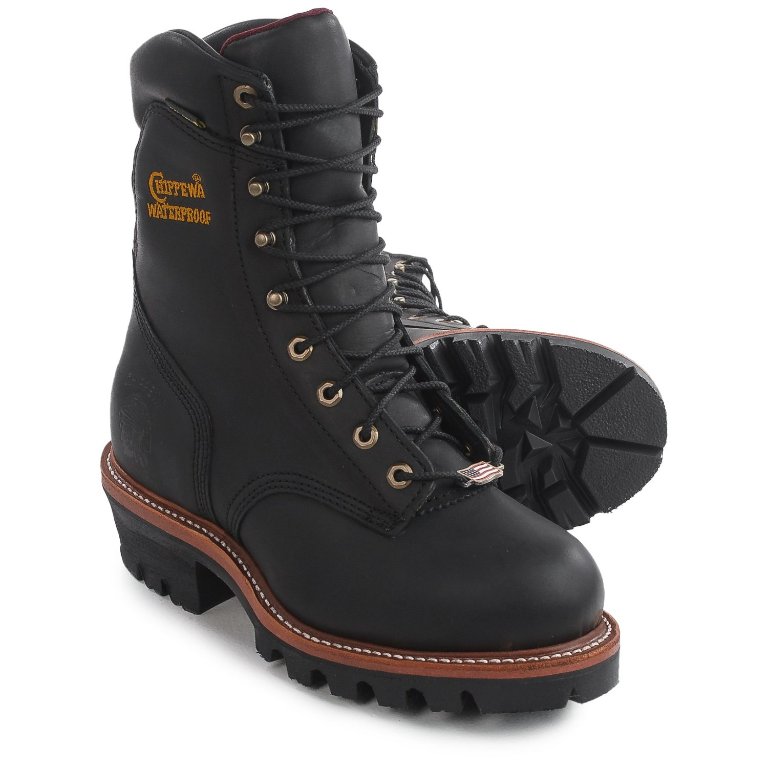 Chippewa Super Logger 9 Quot Work Boots For Men Save 45