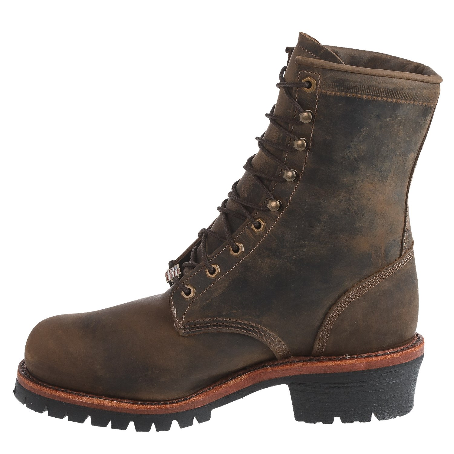 Chippewa Tywin Logger Leather Work Boots (For Men) - Save 45%