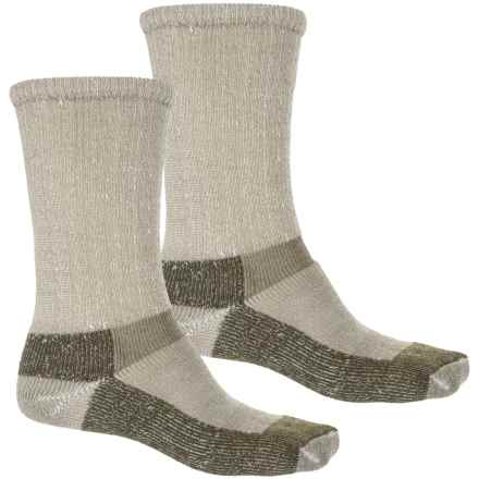 Chippewa Ultra Work Socks - 2-Pack, Crew (For Men) in Olive - Closeouts