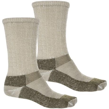 Chippewa Ultra Work Socks - 2-Pack, Crew (For Men) in Olive