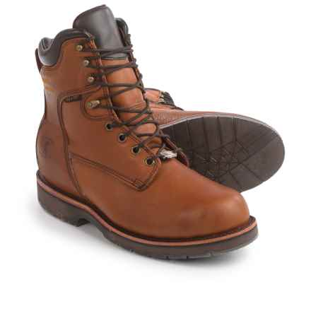"""Chippewa Utility Rugged Outdoor Work Boots - Waterproof, Insulated, 8"""" (For Men) in Tan - 2nds"""