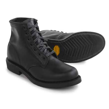 """Chippewa Utility Trooper Service Boots - 6"""" (For Men) in Black - 2nds"""