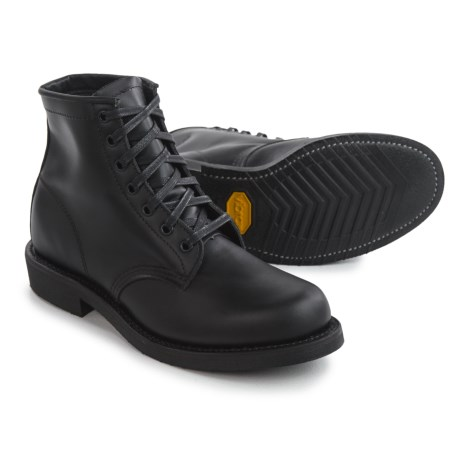 """Chippewa Utility Trooper Service Boots - 6"""" (For Men) in Black"""