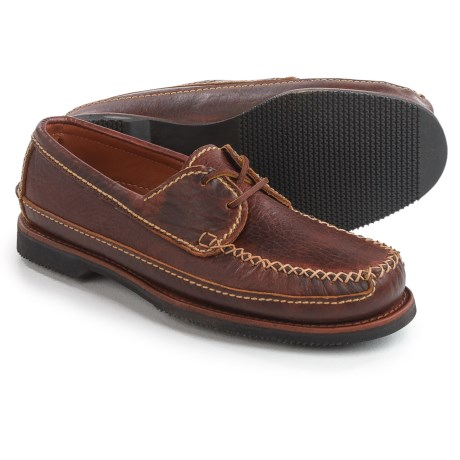 ChippewaTwo-Eye Oxford Shoes - Bison Leather (For Men) in Brown