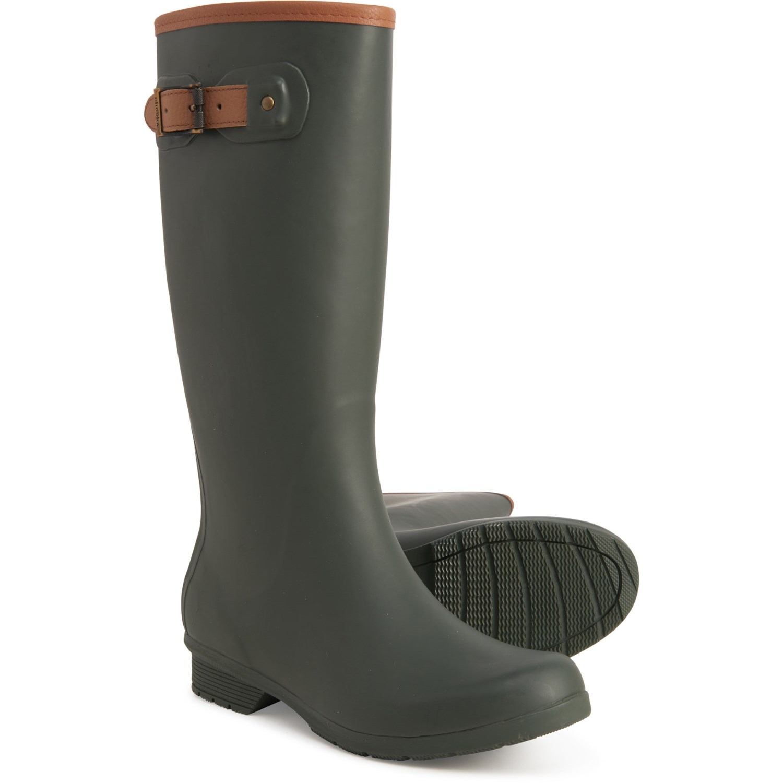 Chooka City Solid Tall Rain Boots (For