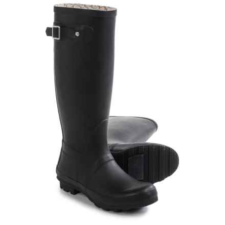 Chooka Classic Tall Rain Boots - Waterproof (For Women) in Black - Closeouts