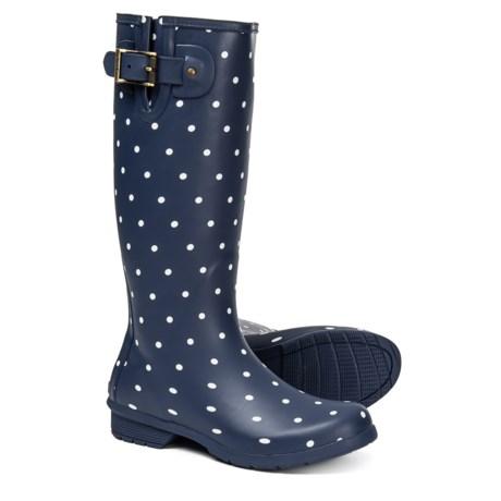 afd8d922e09 Chooka Dot Print Rain Boots - Waterproof, Slip-Ons (For Women)