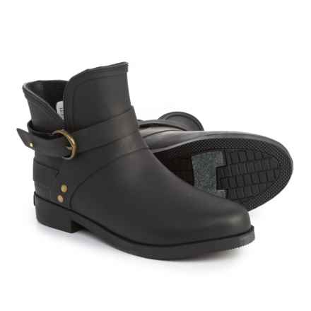 Chooka Mainstreet Rain Booties - Waterproof (For Women) in Black - Closeouts