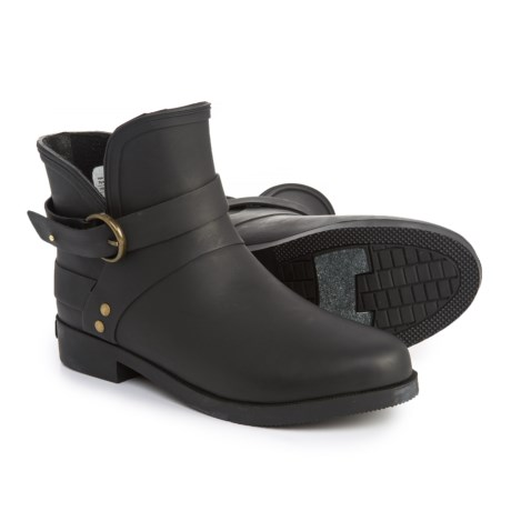 Chooka Mainstreet Rain Booties - Waterproof (For Women) in Black
