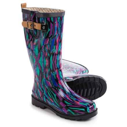 Chooka Paradox Rain Boots - Waterproof (For Women) in Multi - Closeouts