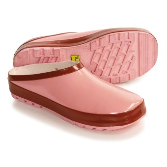 Chooka Rain Clogs - Waterproof (For Women) in Solid Pink