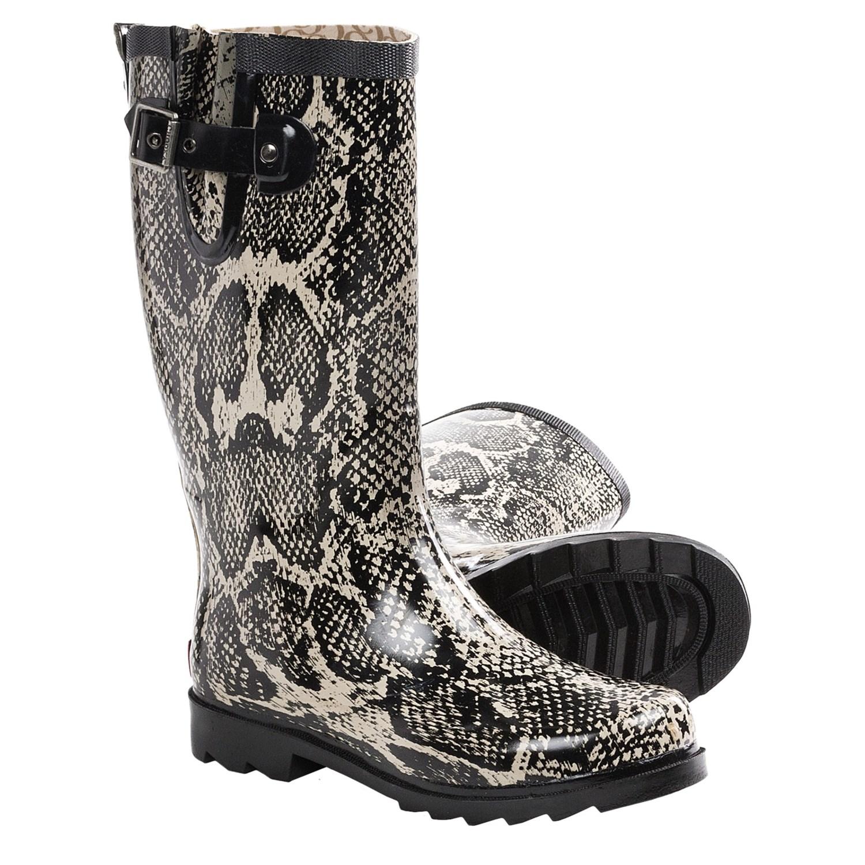 Rain Boots For Women Chooka snakes rain boots
