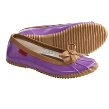 Chooka Solid Duck Skimmer Shoes - Rubber, Slip-Ons (For Women) in Purple - Closeouts