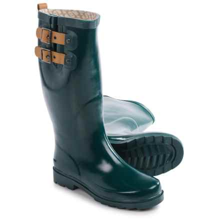 Chooka Top Solid Rain Boots - Waterproof (For Women) in Deep Juniper - Closeouts