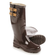 Chooka Top Solid Rain Boots - Waterproof (For Women) in Espresso - Closeouts