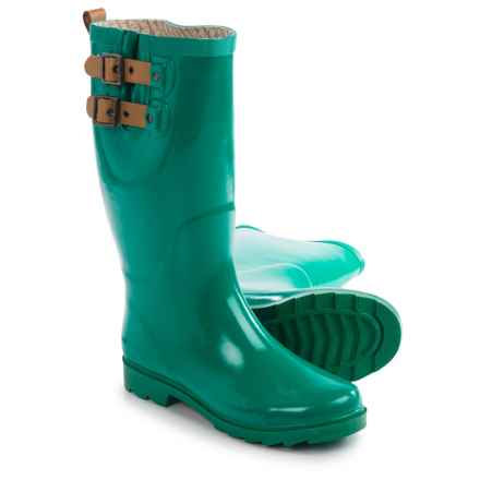 Chooka Top Solid Rain Boots - Waterproof (For Women) in Jungle Green - Closeouts