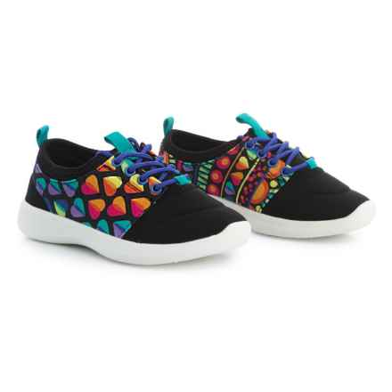 CHOOZE Bolt Sneakers (For Girls) in Black - Closeouts