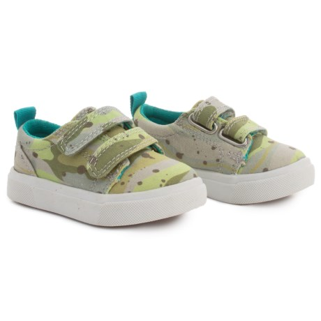 CHOOZE Little Choice Sneakers (For Boys) in Camo Green