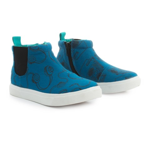 CHOOZE Rocket Sneaker Boots (For Girls) in Blue