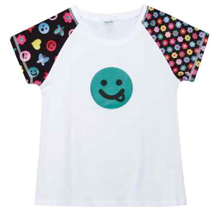 CHOOZE Smartee T-Shirt - Short Sleeve (For Girls) in Grin - Closeouts