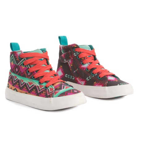 CHOOZE Spark Sneakers (For Girls) in Brown