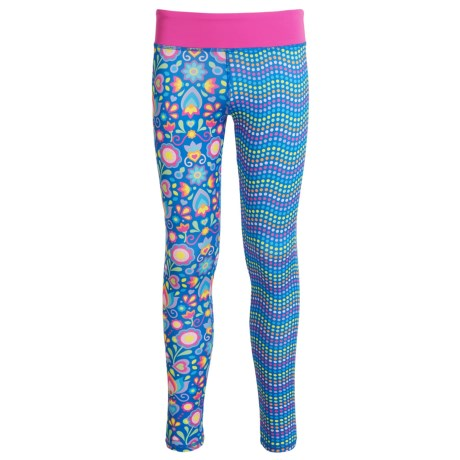 CHOOZE Splits Leggings (For Girls) in Flare