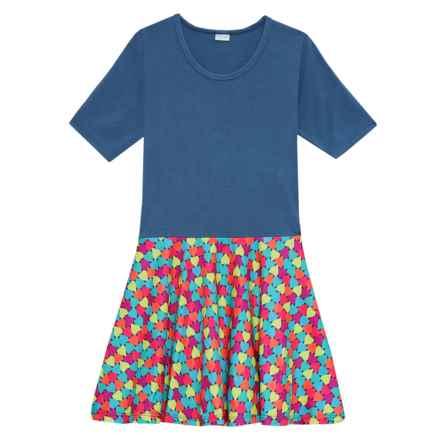 CHOOZE Spree Dress - Short Sleeve (For Girls) in Heartbreaker - Closeouts