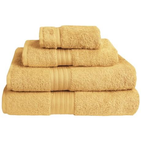 Chortex Indulgence by Victoria House Bath Sheet - 600gsm, Turkish Cotton in Mustard