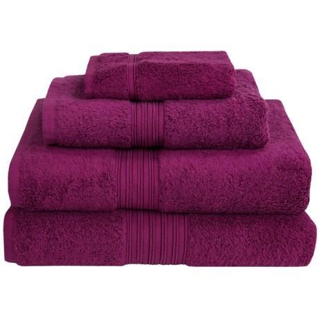 Chortex Indulgence by Victoria House Bath Sheet - 600gsm, Turkish Cotton in Peony