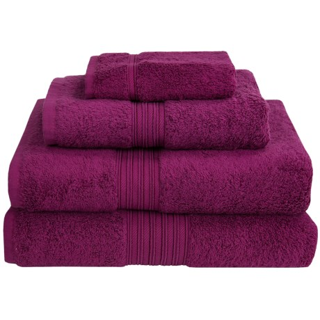 Chortex Indulgence by Victoria House Bath Towel - Turkish Cotton in Peony