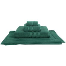 Chortex Irvington Washcloth - Combed Cotton in Forest Green - Closeouts
