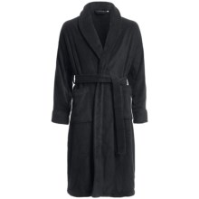 Chortex Micro-Cotton Robe - Long Sleeve (For Men and Women) in Black - Closeouts