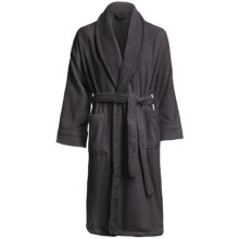 Chortex Micro-Cotton Robe - Long Sleeve (For Men and Women) in Charcoal - Closeouts