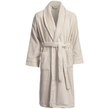 Chortex Micro-Cotton Robe - Long Sleeve (For Men and Women) in Linen - Closeouts
