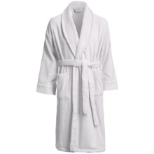 Chortex Micro-Cotton Robe - Long Sleeve (For Men and Women) in White - Closeouts
