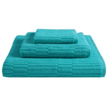 "Chortex Oxford Bath Towel - 30x54"" in Teal - Closeouts"